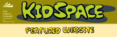 Cincinnati Library Kid Space Featured Website