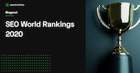 Searchmetrics SEO World Rankings 2020